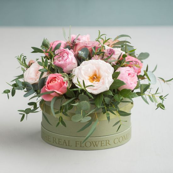 Antique Hat Box Arrangement
