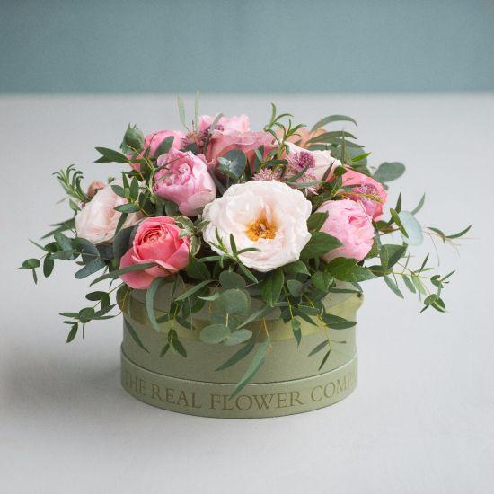 Antique Hat Box Arrangement