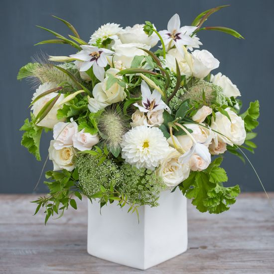 Wild White Bouquet