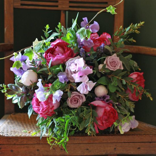 Chelsea Sweet Pea & Rose Summer Medley