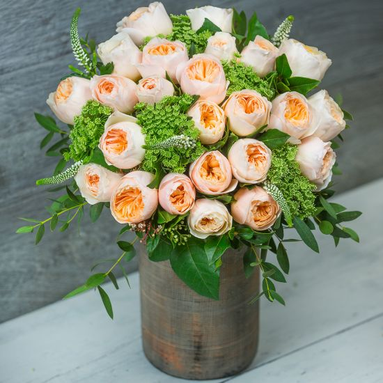 David Austin Juliet Cottage Garden Bouquet