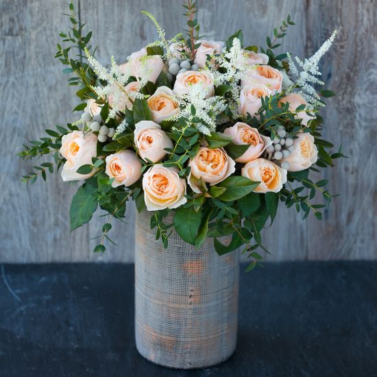 David Austin Juliet Bouquet