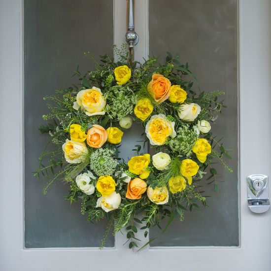 Easter Sunrise Door Wreath