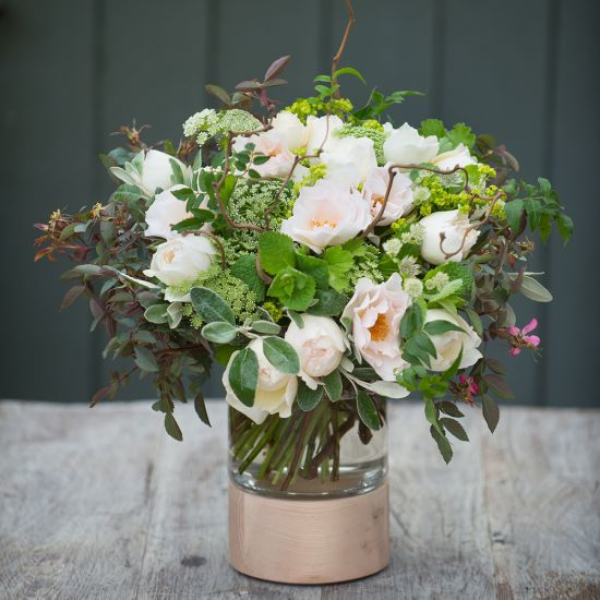 Hampton Court Ivory Summer Garden Bouquet - From