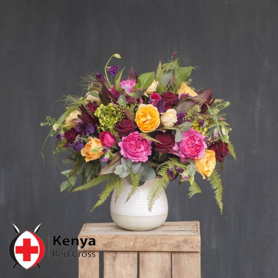 Kenya Red Cross Charity Bouquet - From: