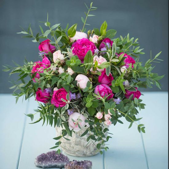 SELFRIDGES Mixed Pink Spring Bouquet