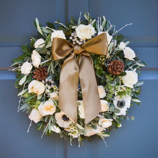 Nordic Door Wreath