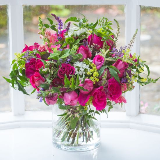 Seasonal Hot Pink Bouquet