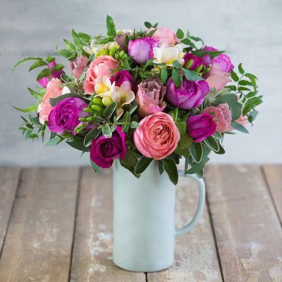 SELFRIDGES - Raspberry Latte Bouquet