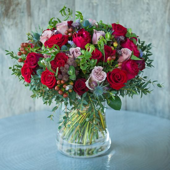 Christmas Red Antique Bouquet