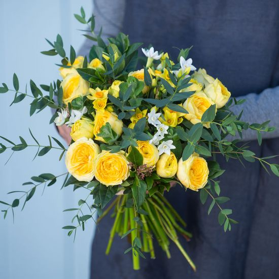SELFRIDGES Yellow Spring Posy