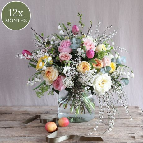 1 Year Monthly Bouquet Delivery