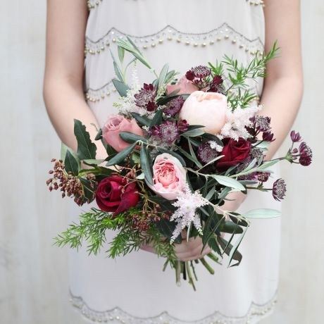 Antique Romance Bridesmaid Bouquet