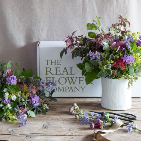 British flower club subscription