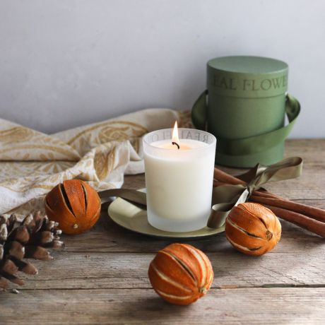 Citrus & Cinnamon Candle