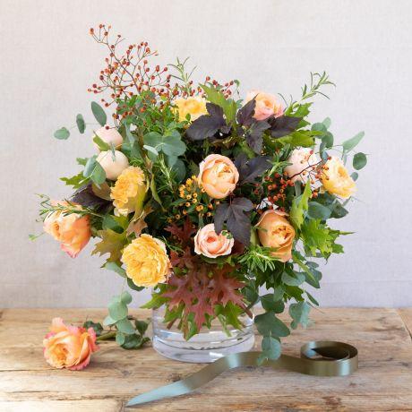 David Austin Autumn Glow Bouquet