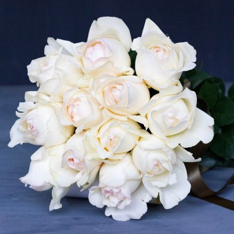 Cream & Ivory DIY Roses - Box Of 12