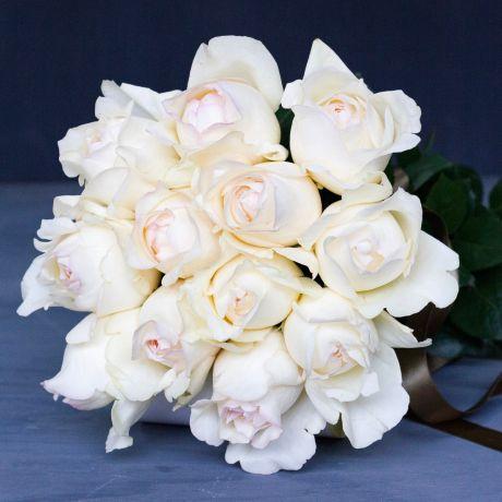 Cream & Ivory DIY Roses - Box Of 12