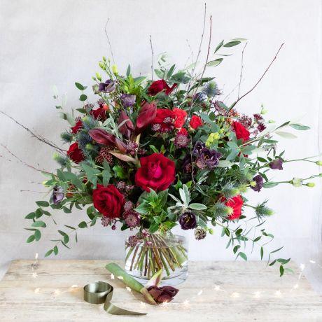 Luxury Amaryllis Christmas Bouquet