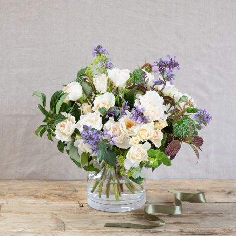 Margaret Merril and Mint Posy