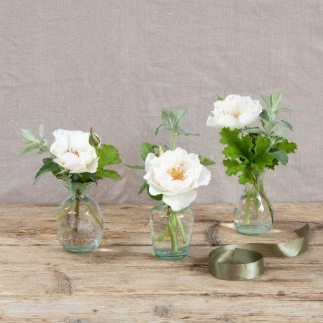 Margaret Merril Vase Trio