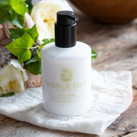 Luxury Tea Rose Hand Lotion By Noble Isle - 250ml