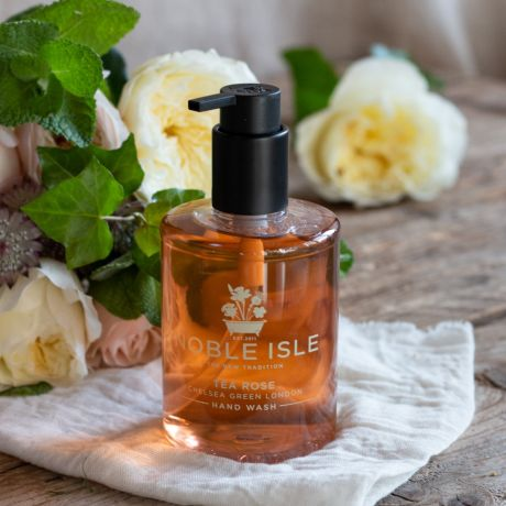 Luxury Tea Rose Hand Wash By Noble Isle - 250ml