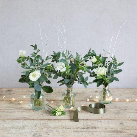 Nordic Christmas Vase Trio