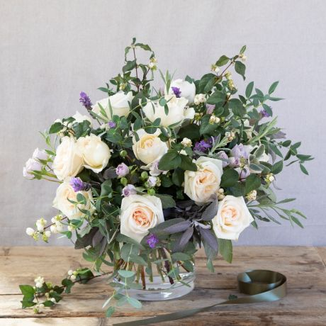 Pearl & Lavender Bouquet