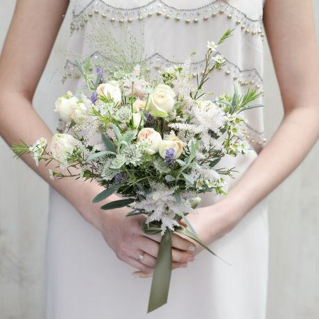 Perfectly Pastel Bridesmaid Bouquet