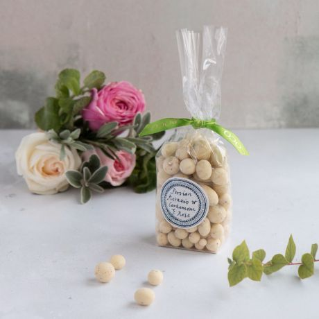 White Chocolate Pistachios with Rose & Cardamom - Made By ROCOCO