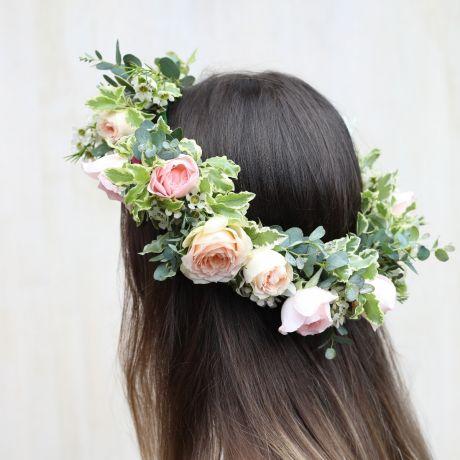 Bridal Rosebud Circlet