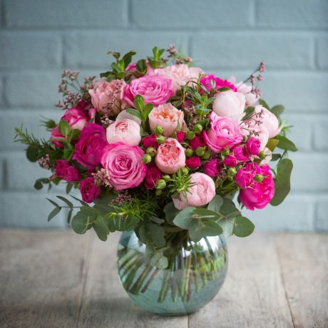 Seasonal Mixed Pink Bouquet