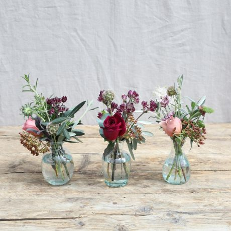 Wild Luxe Bridal Vase Trio