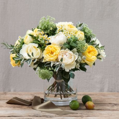 Yellow & Ivory Fairtrade Friendship Bouquet