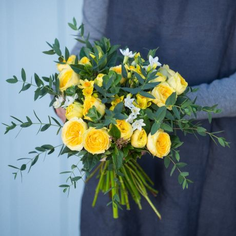 Yellow Spring Posy
