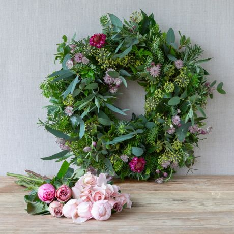 12 x Roses For Wreath Top-up