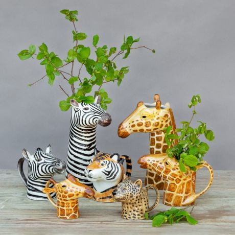 Exotic Animal Vases By Quail Ceramics