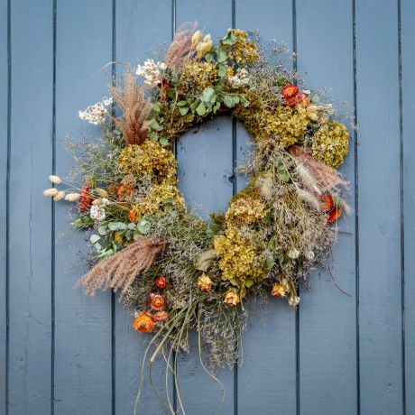 Seasonal Dried Flower wreath