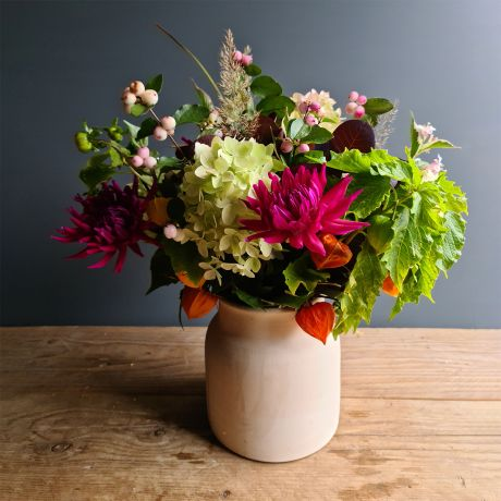 autumnal pick of the day bouquet