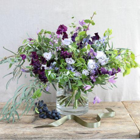 Seasonal Purples & Blues Bouquet