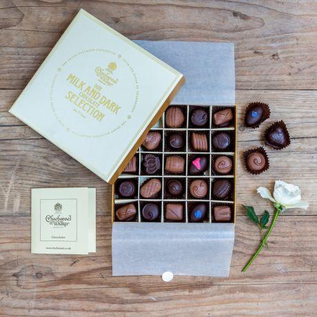 Charbonnel et Walker milk and dark chocolate selection
