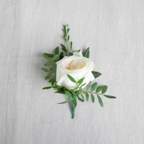 Classic white Buttonhole