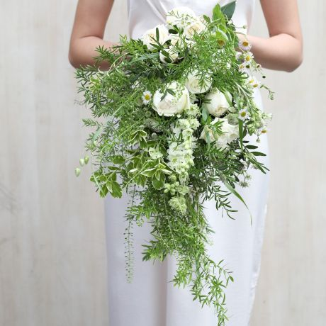 Country Garden Cascade Bridal Bouquet