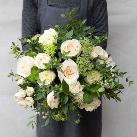 Cream and Ivory Pick Of The Day Bouquet