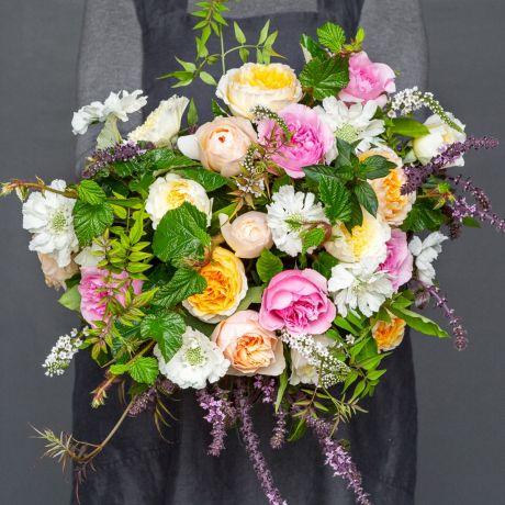 David Austin florist choice bouquet