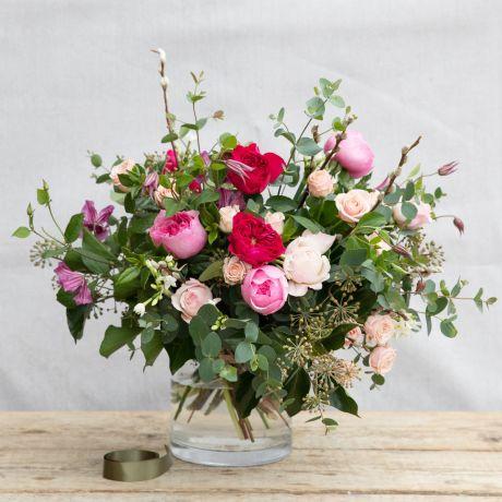 David Austin valentines bouquet