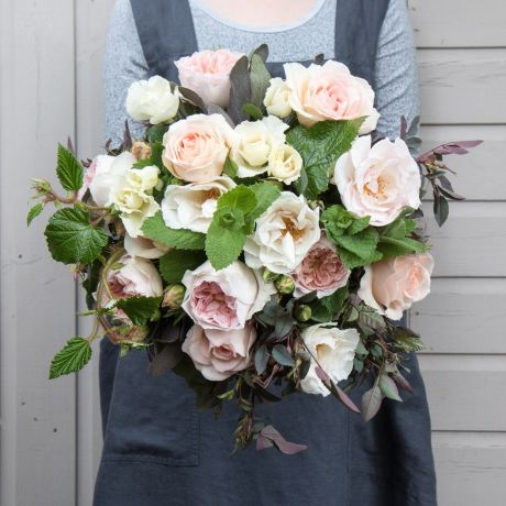 peaches and cream bouquet