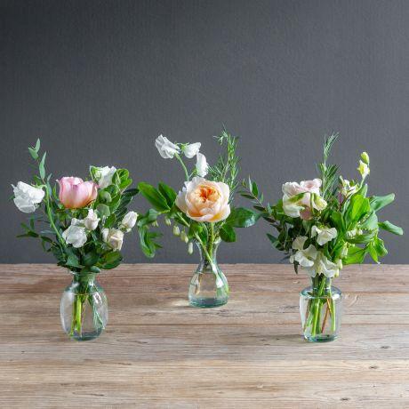 florist choice vase trio