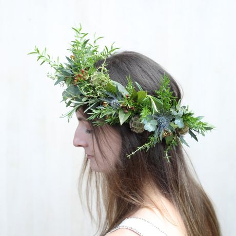 Bridal Foliage Circlet